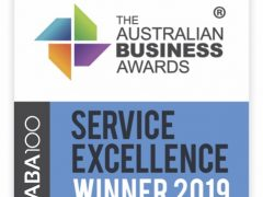 Smile Solutions wins the ABA100 Australian Business Awards 2019 for Service Excellence